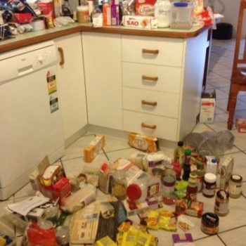 My Dirty Little Secret – Wait until you see my pantry before we started eating clean