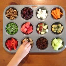 Clean Eating Snack Idea for Preschoolers (And quick tip on how to get them to try new foods)
