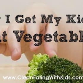 How I get My Children to eat Vegetables with my Secret 'One more Spoon' Strategy