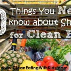 10 Shopping Tips and Tricks for busy Clean Eating Moms