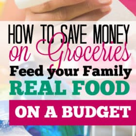 Save On Food: 11 Tips For Eating Clean on One Income.