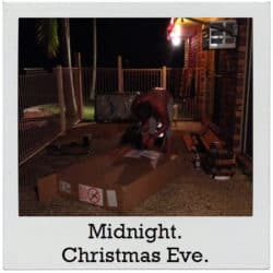 'Twas the night before Christmas … and Mom goes a little crazy.'