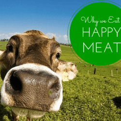 Why We Eat Happy Meat. Always.