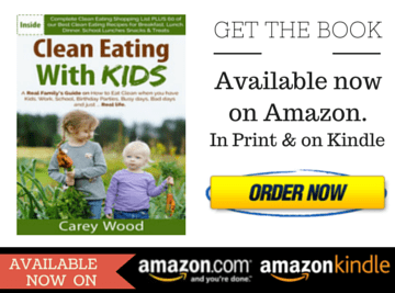 THE CLEAN EATING WITH KIDS BOOK