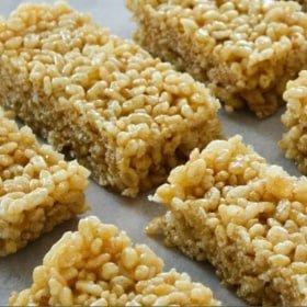 Clean Eating Rice Krispie Treats