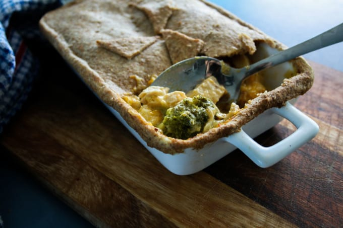 Chicken Pie and Wholemeal Crust-13