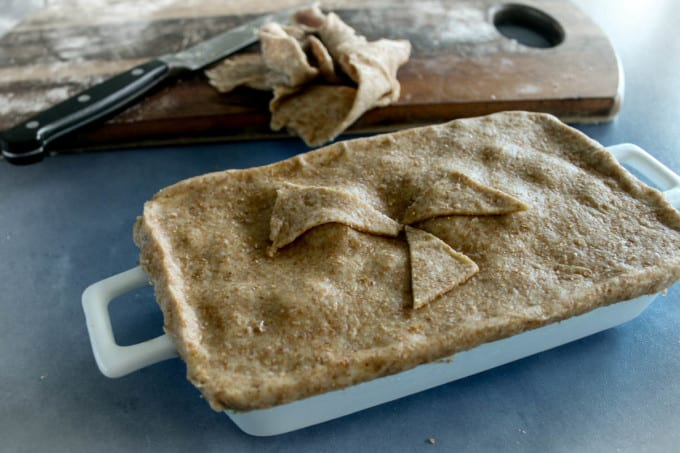 Chicken Pie and Wholemeal Crust-7