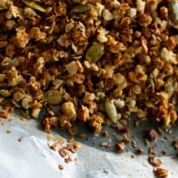 Easy Clean Eating Granola that your kids will eat.