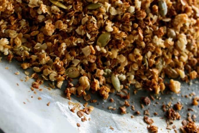 Easy Clean Eating Granola-3