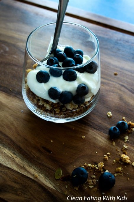Clean Eating Granola for Kids