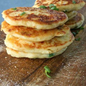 clean eating mash potato fritters