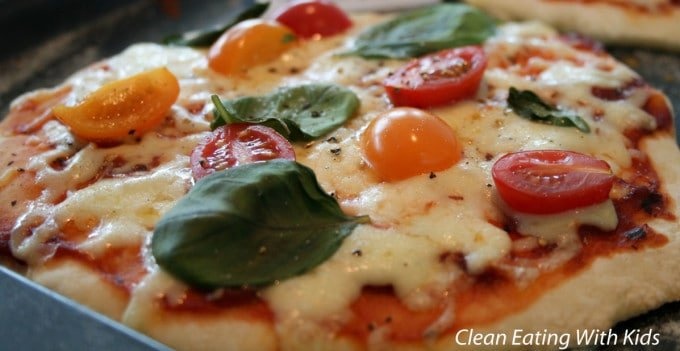 Two Ingredient Pizza Dough-8