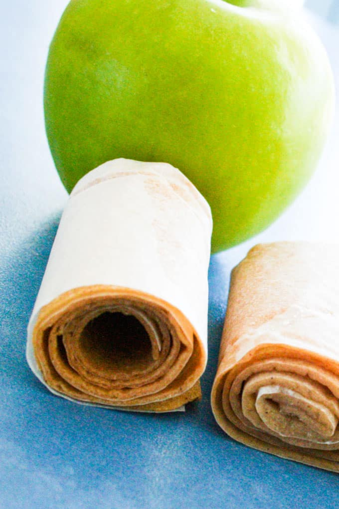 clean eating apple fruit rollups-8