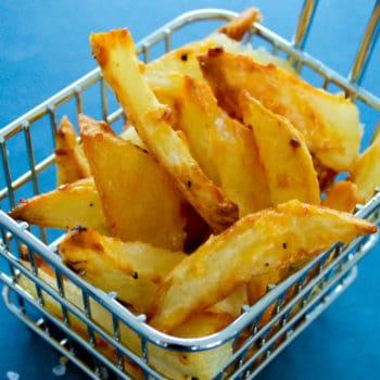 clean eating parmesan potato chips