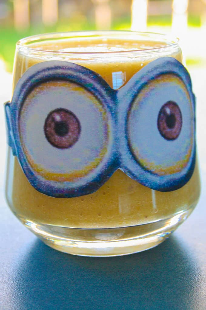 Clean Eating Mighty Minion Smoothie (aka The Yellow One)