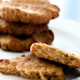 Clean Eating Peanut Butter Biscuits (The Feel Good Biscuit)