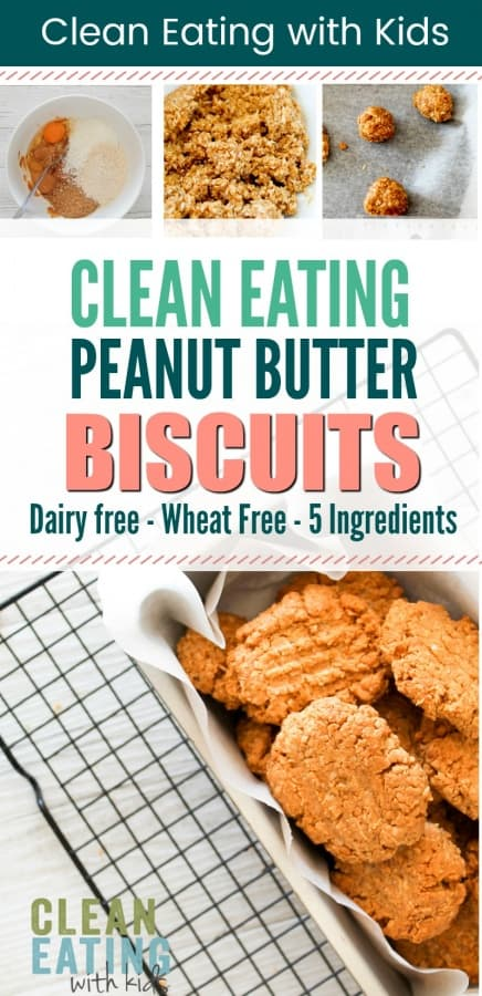 clean eating peanut butter biscuits