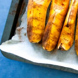 Clean Eating Oven Roasted Butternut Pumpkin