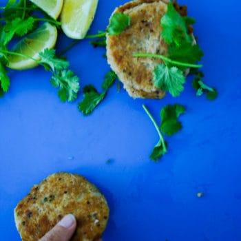 clean eating tuna patty