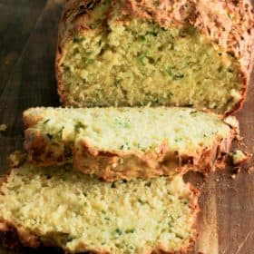 Clean Eating Zucchini Bread (Includes a sneaky 4 serves of Fruit and Veg per loaf)