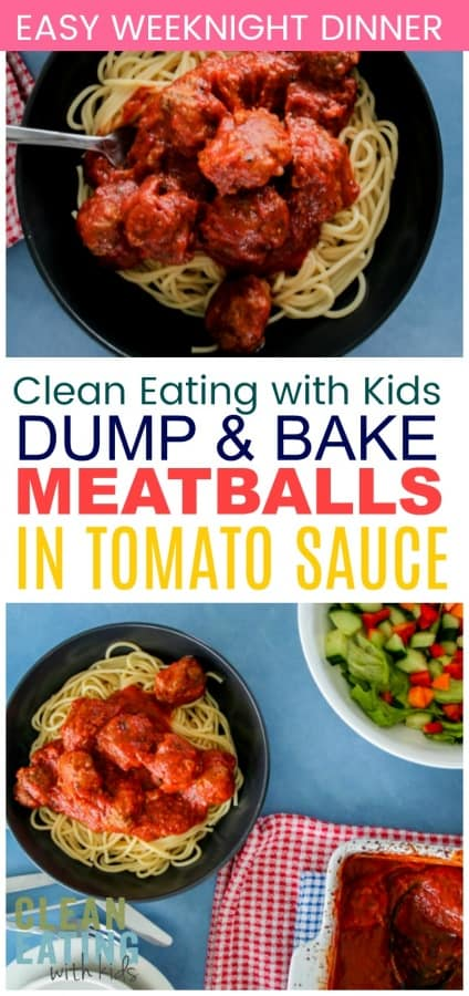 You are going to want to try this! Unbelievable Easy Dump and Bake Italian Meatballs in tomato sauce