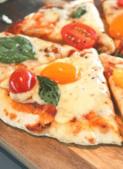 healthy-margherita-pizza