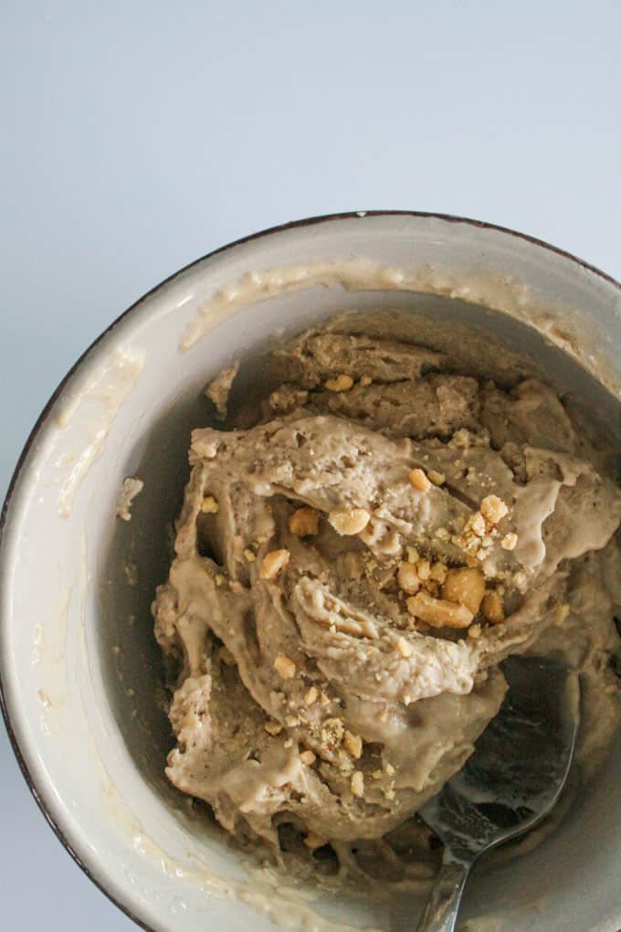 Clean Eating Banana and Peanut Butter Ice cream-15
