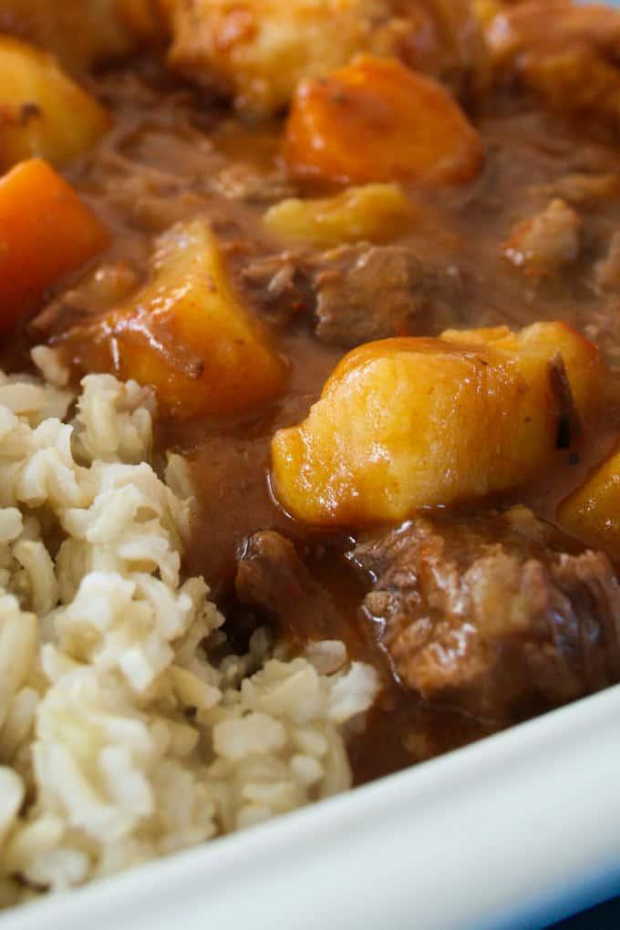 Clean Eating Beef Stew And Dumplings 15
