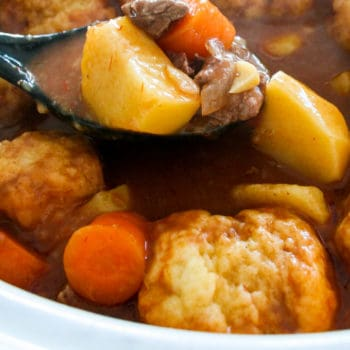 Clean Eating Beef Stew and Dumplings-9