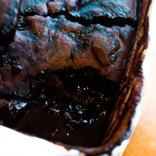 Clean Eating Chocolate Self Saucing Pudding-14