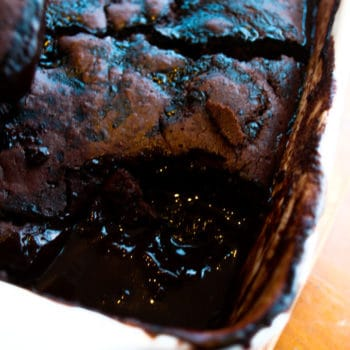 Clean Eating Chocolate Self Saucing Pudding