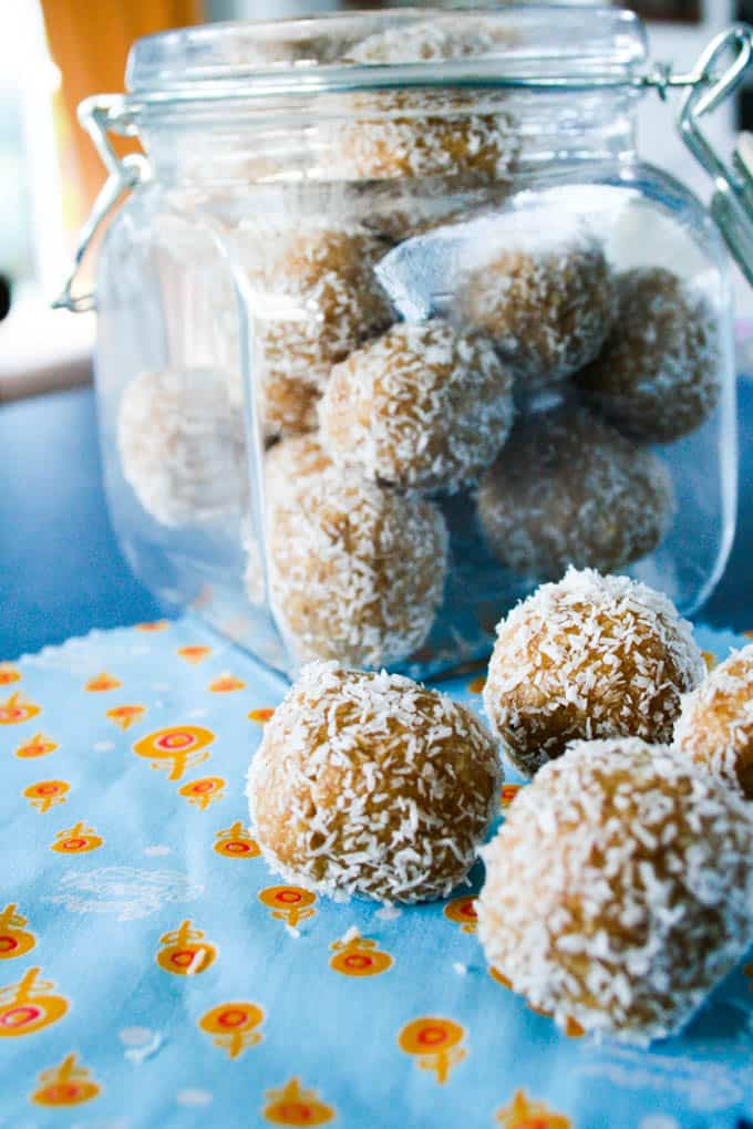 no bake raw nutty oat bites