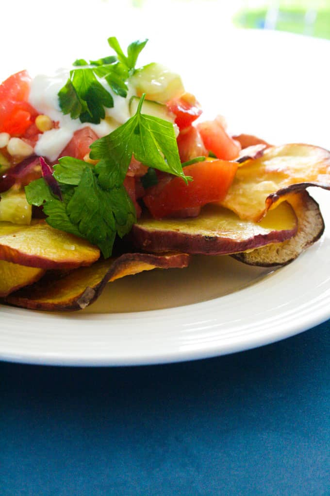 Clean Eating Sweet Potato fries and salsa-15
