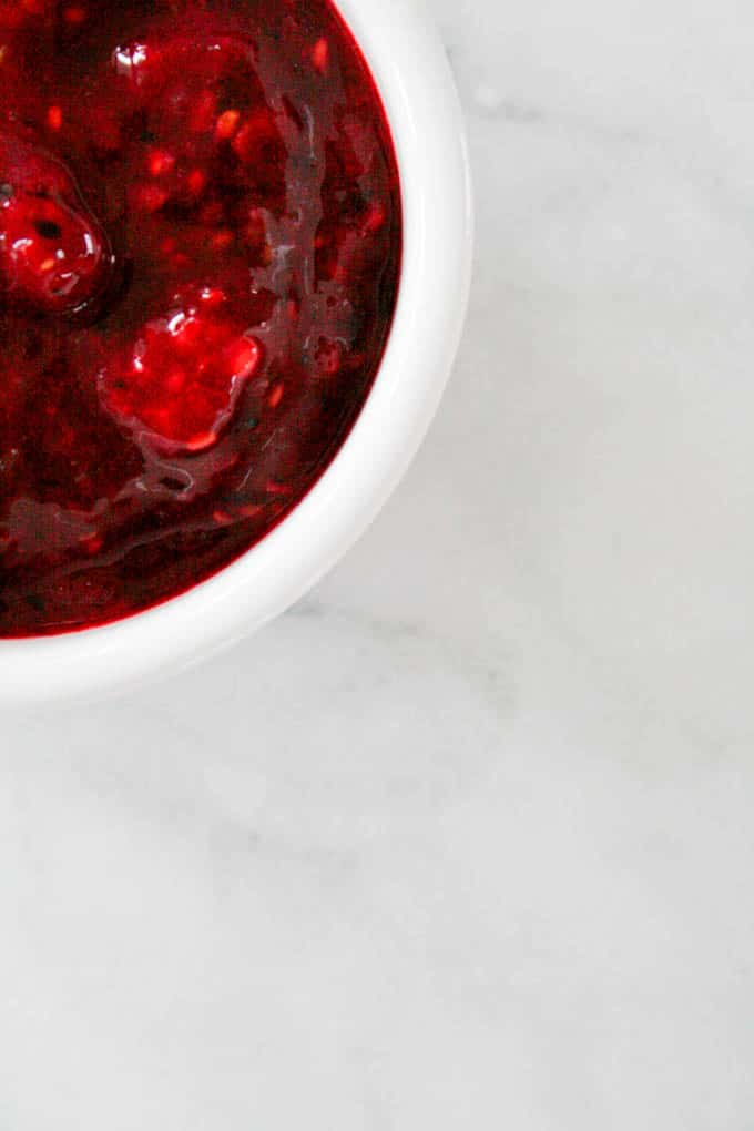 clean eating fruit jam