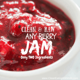 Clean & Raw Mixed Berry Jam