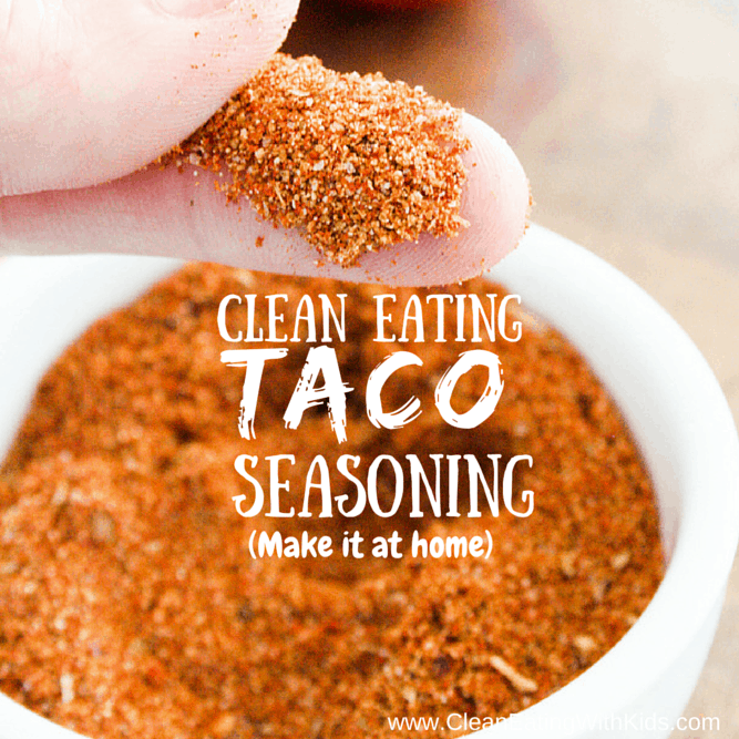Clean Eating Taco Seasoning