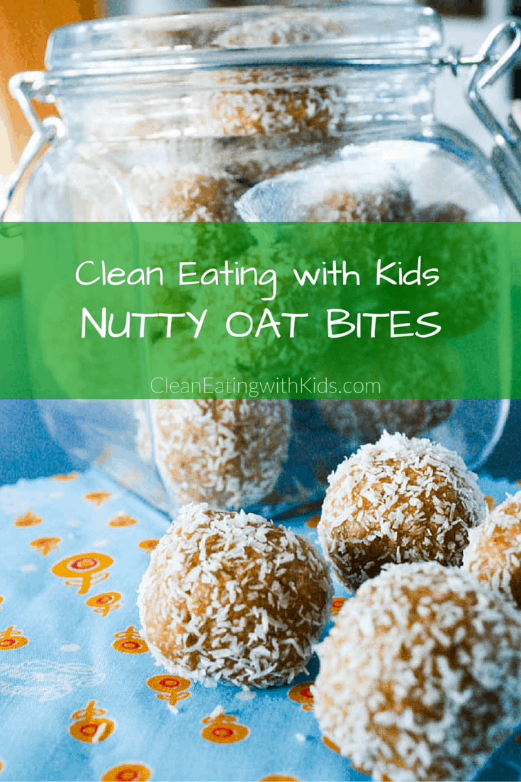 Clean Eating Nutty Oat Bites-10