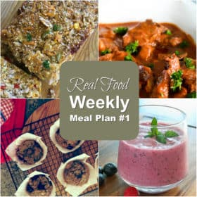 real food meal plans #1