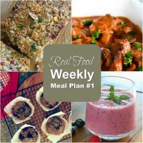 Real Food Meal Plan #1