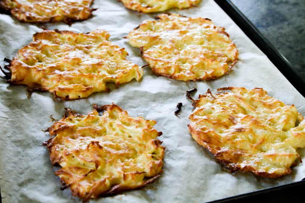 brown butter cakes oven roasted hash brown cakes recipes dishmaps ...