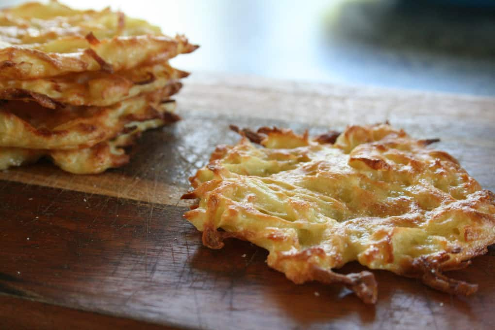 Crispy Oven Baked Hash Browns (Only 4 Ingredients) - Clean Eating with ...