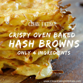 Crispy Oven Baked Hash Browns (Only 4 Ingredients)