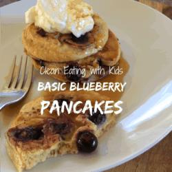 Basic Blueberry Pancakes