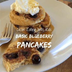 Basic Blueberry Pancakes
