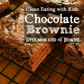 Easy Clean Eating Chocolate Brownies