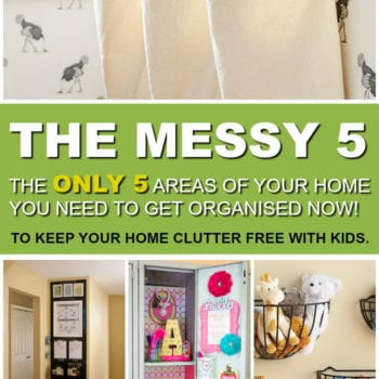 The Only 5 Home Hacks You Need to Get Rid of Clutter with Kids