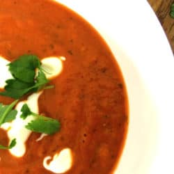 Clean Eating Roast tomato Soup