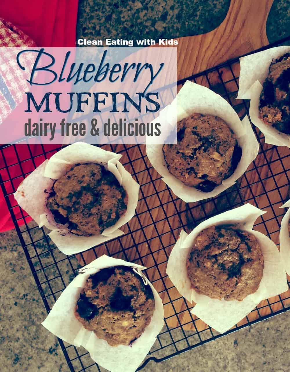 clean blueberry muffin recipe