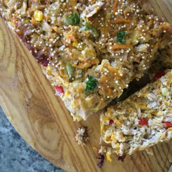 Clean Eating Tuna and Vegetable Loaf