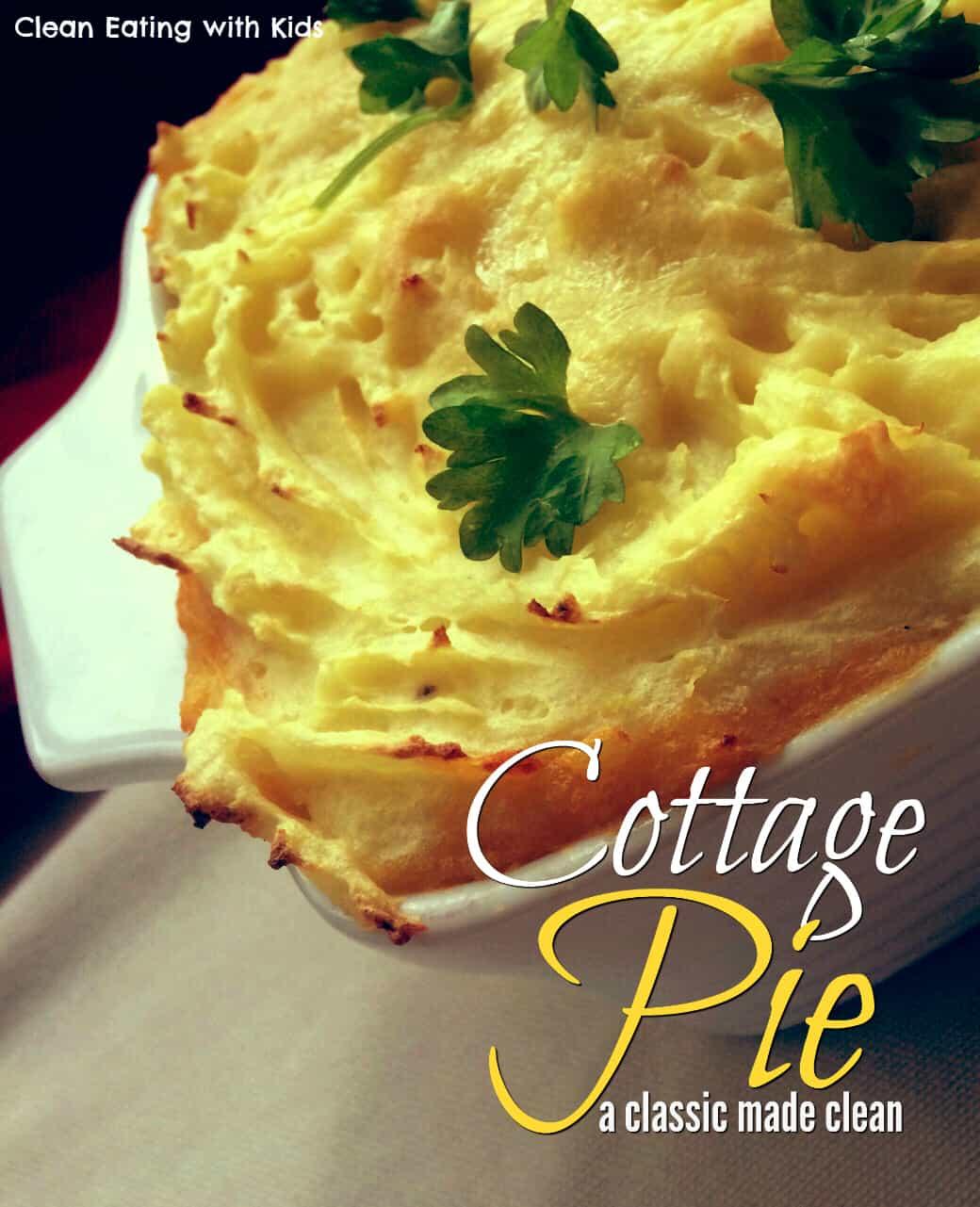 cottage pie for kids